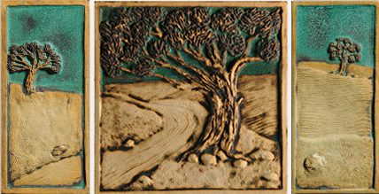 Tree Tiles, Nature Tiles, Custom Tiles